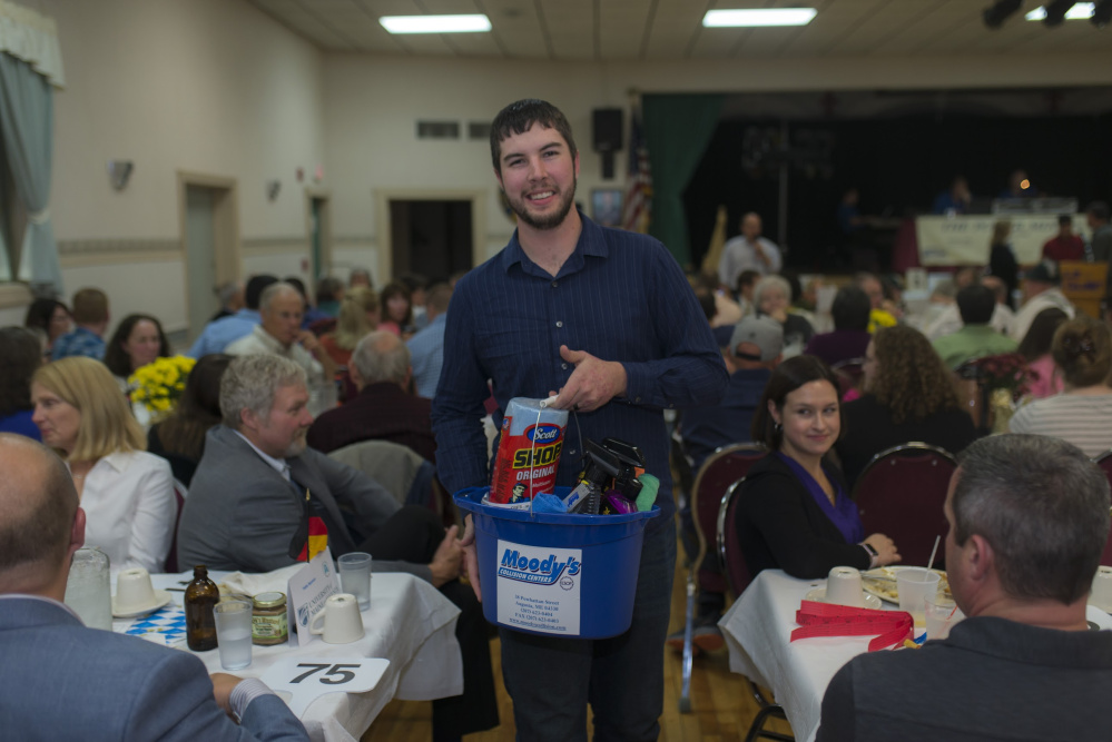 Michael Morrissette auction volunteer.