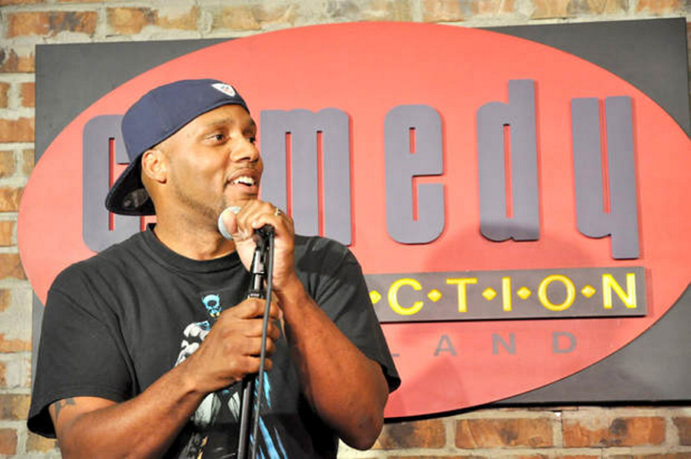 Comedian Kyron Hobdy will perform Nov. 10 at Le Club Calumet in Augusta. Hobdy will share the stage with fellow comedians Dawn Hartill and Mark Turcotte. The event, by Kennebec Behavioral Health, will benefit KBH's Substance Use Disorder Services.