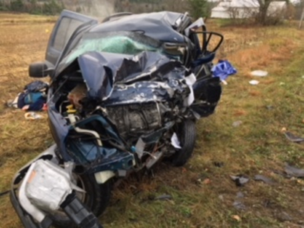 The driver of this 2005 Jeep Liberty was killed in a head-on crash on Route 201A in Norridgewock.