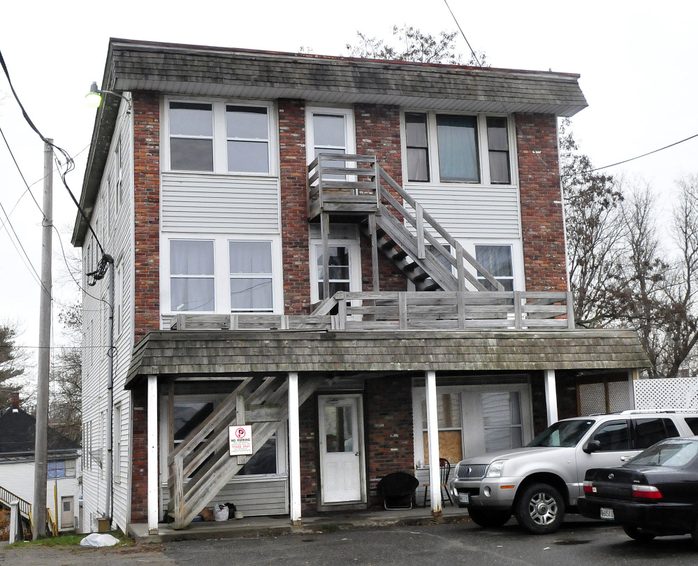 Fire did damage to apartment 2 and the tenant was arrested by police late Saturday at the 15-apartment unit at 17 College Ave. in Waterville. Other tenants alerted neighbors as alarms rang and the building was evacuated. The building remains occupied  on Sunday.