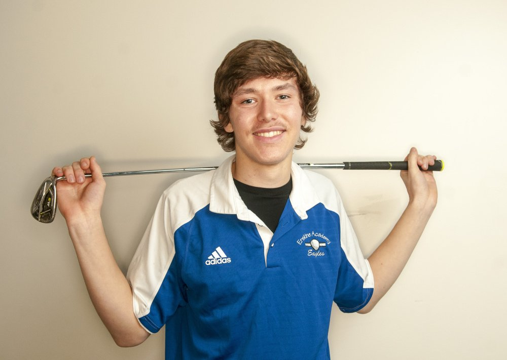 Erskine's Conner Paine is the Kennebec Journal Golfer of the Year.