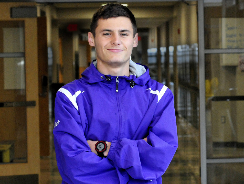 Waterville junior Nick Dall is the Morning Sentinel Boys Cross Country Runner of the Year.