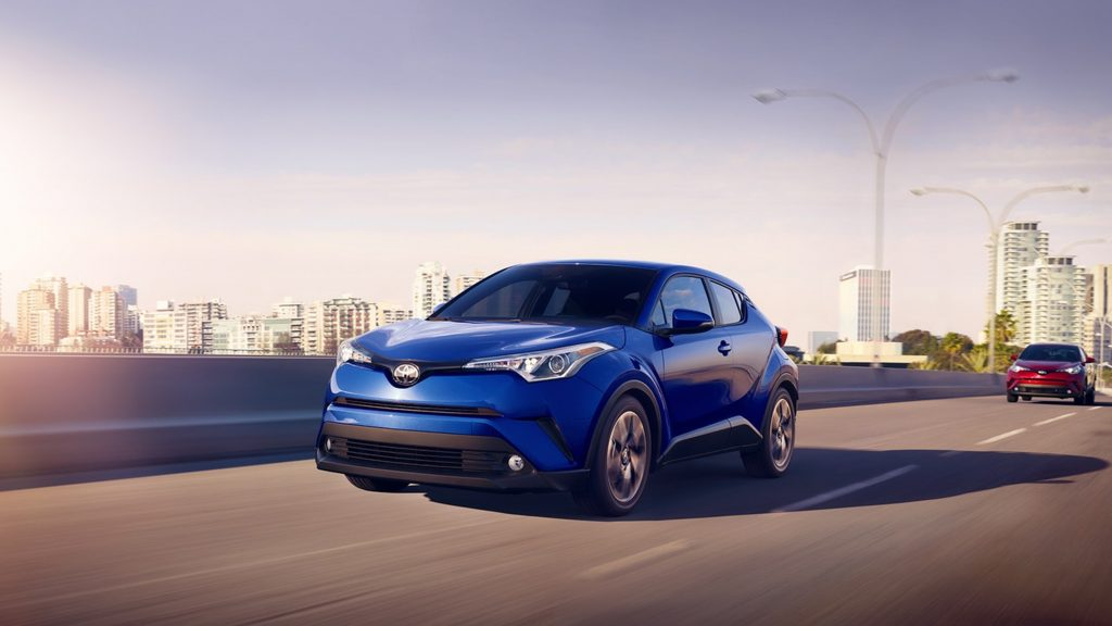 The 2018 Toyota C-HR.