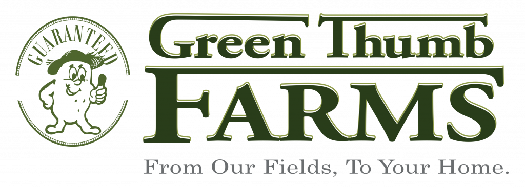 The Green Thumb Farms logo was designed by founder Larry Thibodeau.