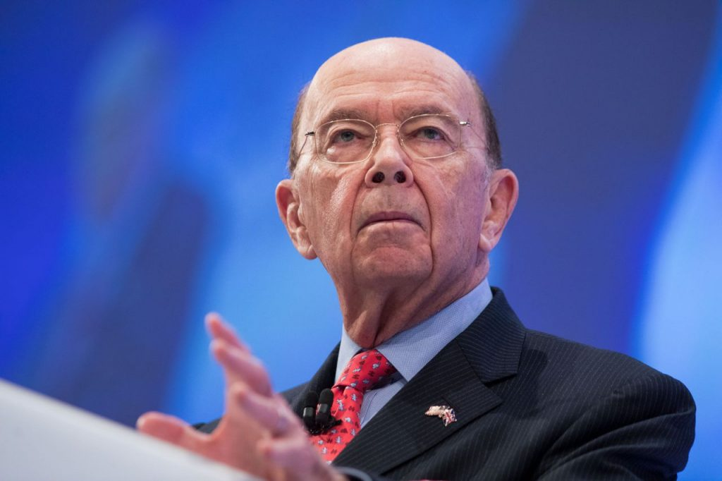 Commerce Secretary Wilbur Ross speaks at the Confederation of British Industry Annual Conference in London on Monday.