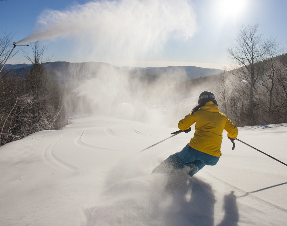 They are off and … skiing at Sunday River in Bethel, and visitors will see some of the $4.7 million spent in improvements, including a major triple chair upgrade.