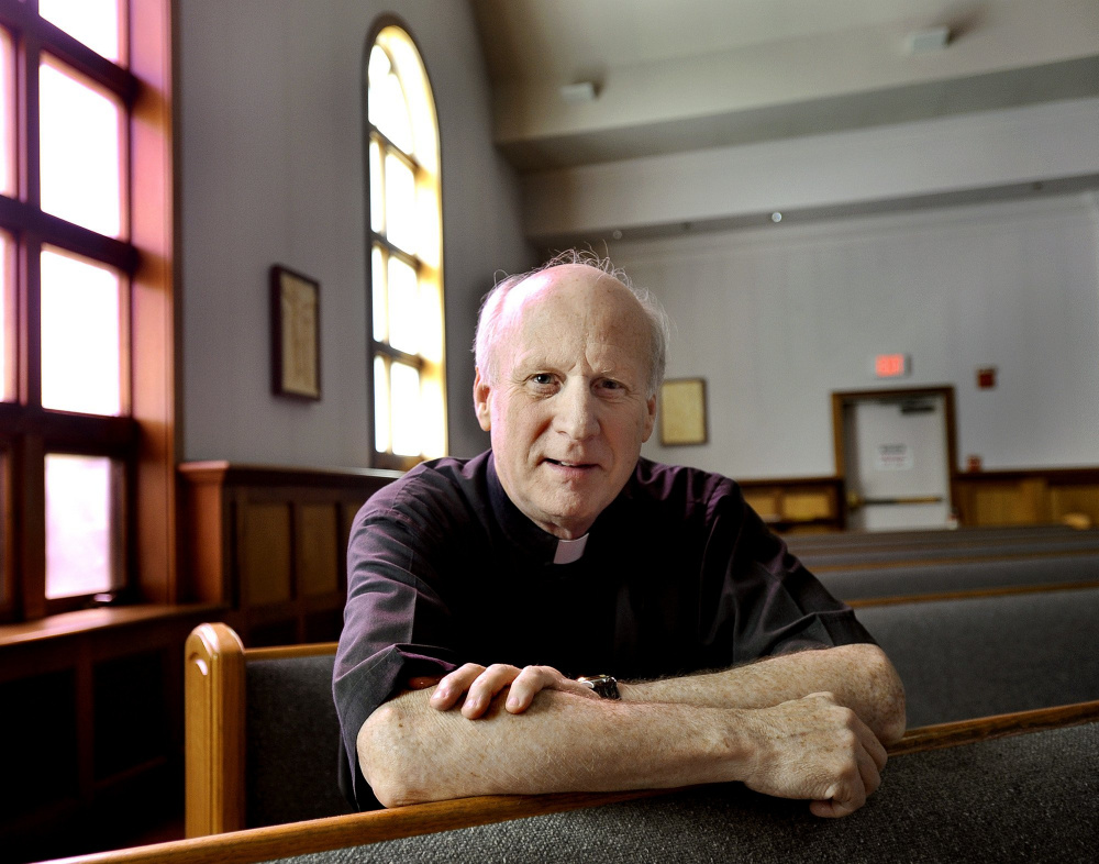 Monsignor Michael Henchal in a 2013 photo taken at the St. Maximilian Church in Scarborough.