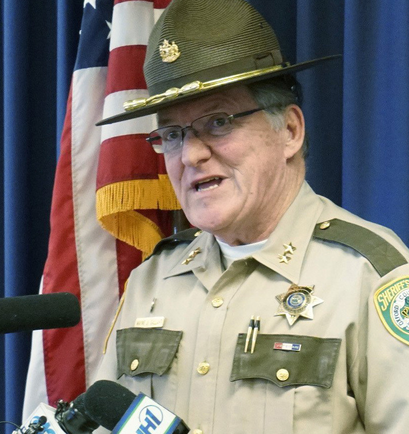 Oxford County Sheriff Wayne J. Gallant