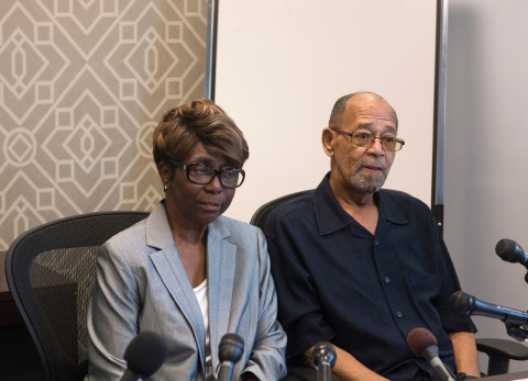 Barbara and Phillip Butler, victims of the 1977 cross burning on their property by William Aitcheson, a former Ku Klux Klan member who became a Catholic priest in 1988, say they doubt the sincerity of his confession and aren't interested in meeting with him. Washington Post/Marvin Joseph
