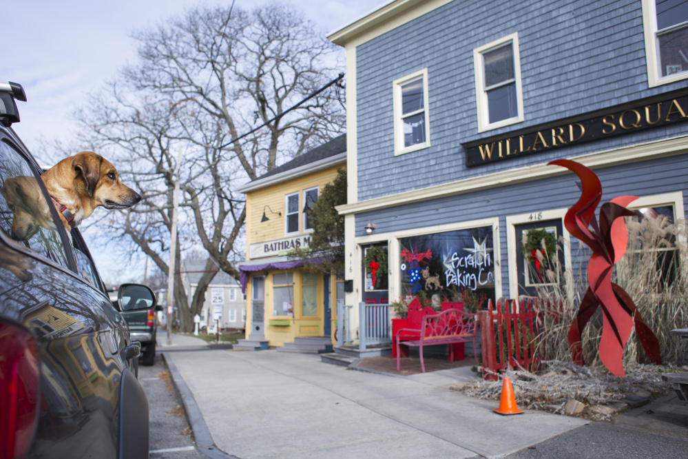 The popular Willard Square area has short-term rentals that can help a resident make ends meet. As it tries to set policy, the South Portland City Council is looking at regulating or banning certain types of them, especially those not owner-occupied.