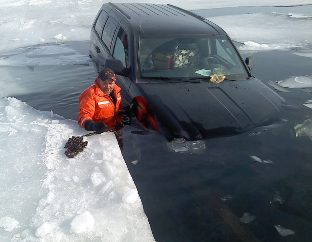 Jim Staricha is busy every winter recovering vehicles that have fallen through the ice with his towing company in Minnesota. He has plenty of experience to offer safety tips for anyone venturing on the ice.