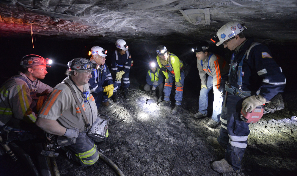 The Trump administration says the mining rules enacted by former President Barack Obama, meant to protect workers from black lung and cancer, have hurt the coal industry.