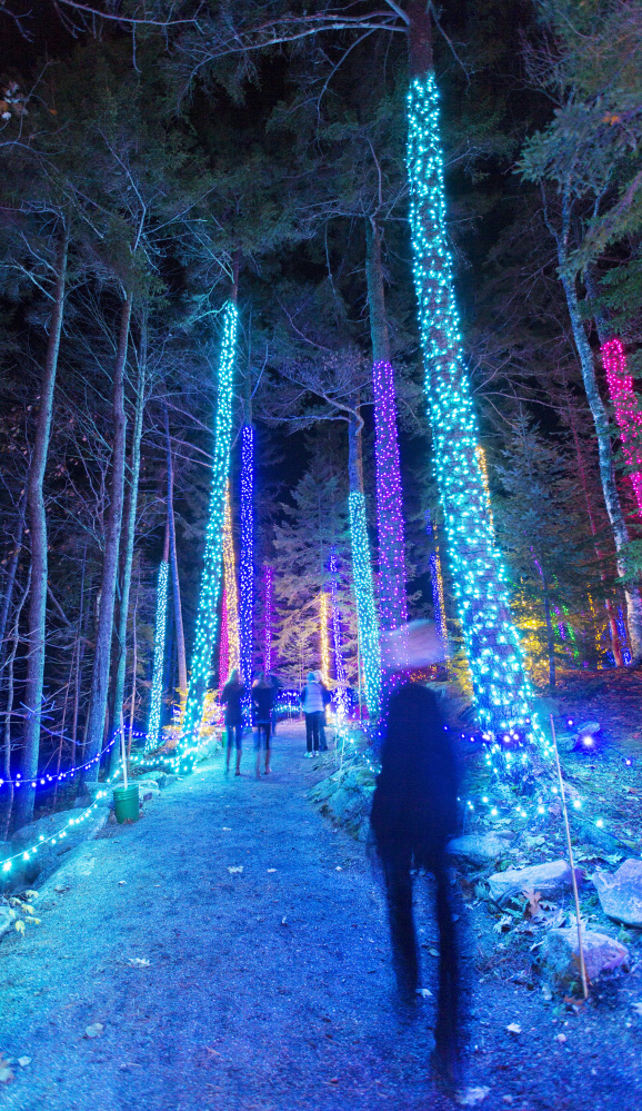 The Coastal Maine Botanical Gardens, home of the annual Gardens Aglow holiday event, is fighting the Boothbay appeals board's denial of an expansion permit.