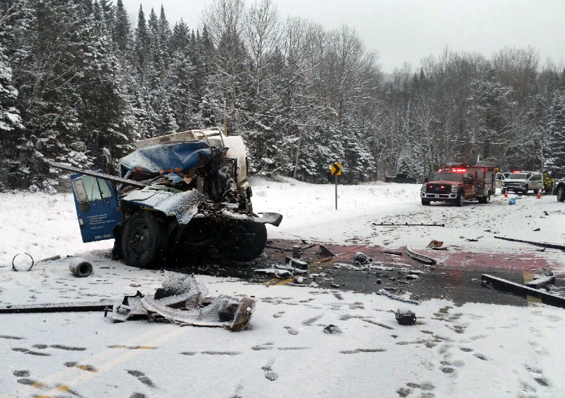 Truck driver killed in Monday morning crash in Franklin County ...