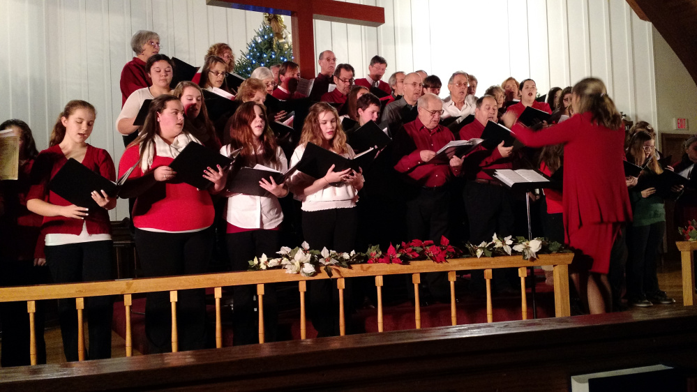 The Rangeley Community Chorus will present a Holiday Concert at 7 p.m. Friday, Dec. 15, at the Church of the Good Shepherd in Rangeley.