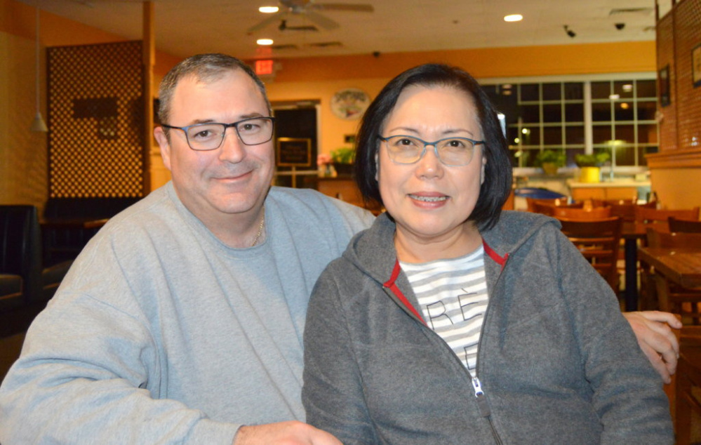 Patrick and Chong Boivin, of Jay, closed Boivin's Harvest House Restaurant in Farmington on Sunday.