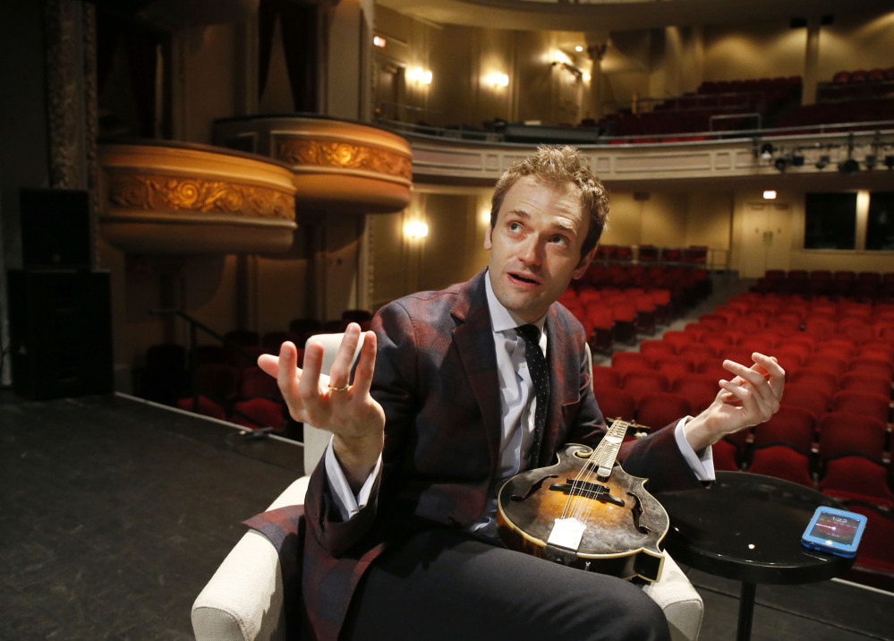 """Chris Thile, host of """"A Prairie Home Companion,"""" talked about allegations against his predecessor Garrison Keillor on Saturday's show."""