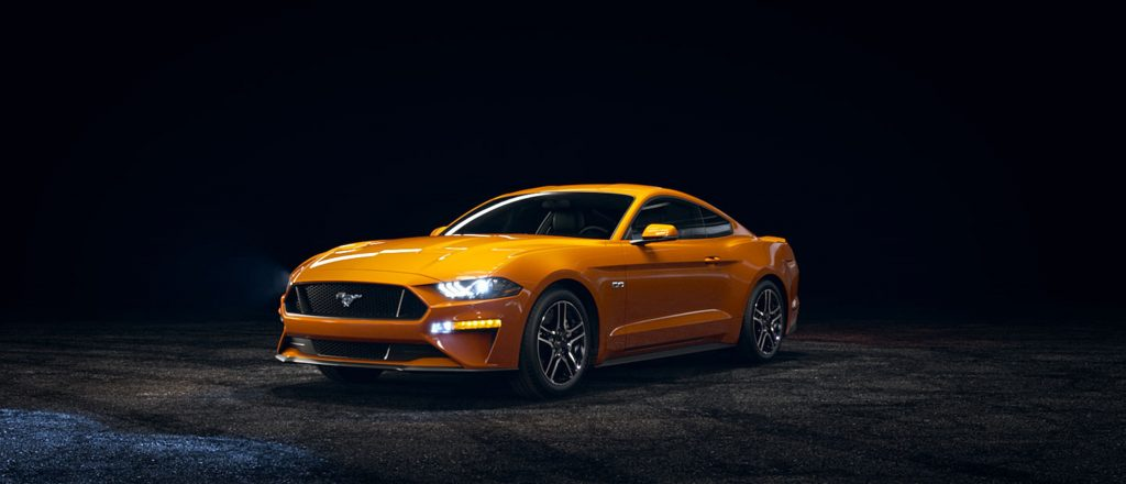 The 2018 5.0L Mustang is the latest in a long line of legendary V8s.
