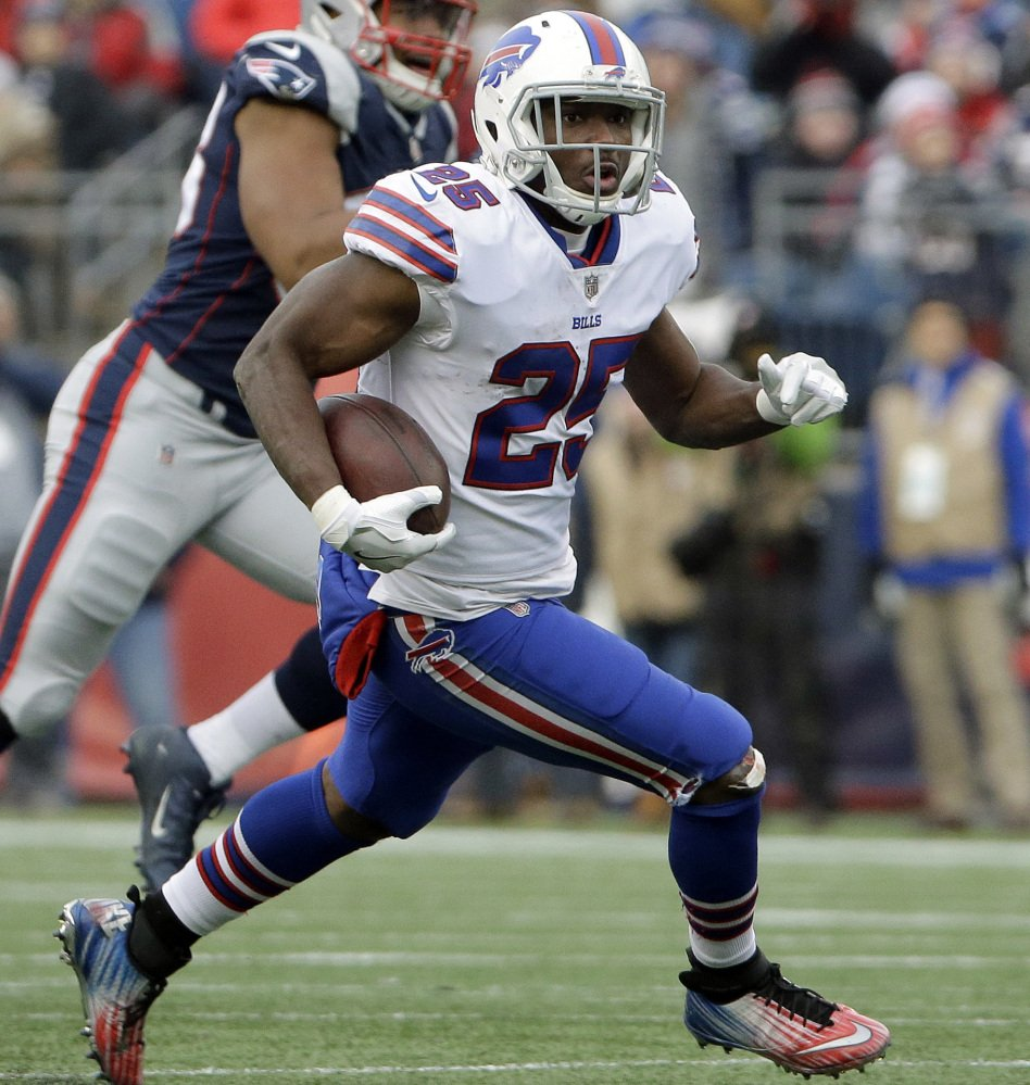 The Bills are not sure if running back LeSean McCoy will be recovered from an ankle injury to play Sunday.