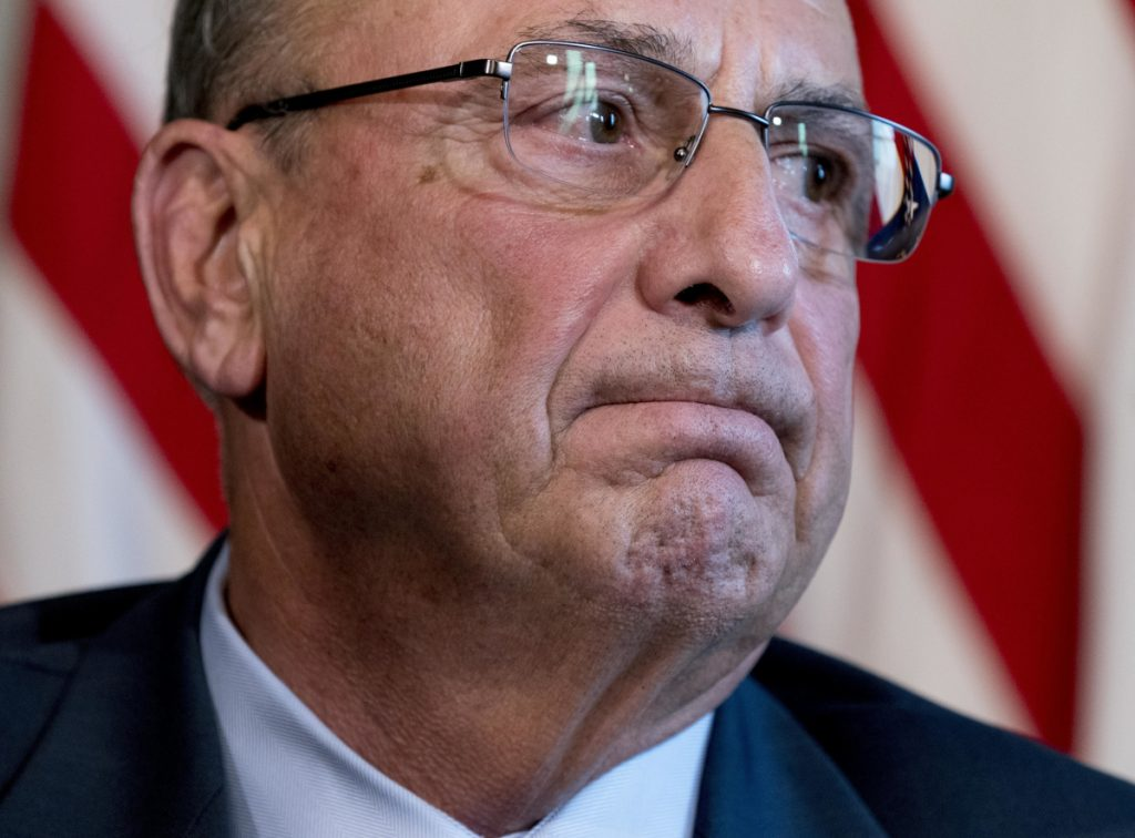 Asked Tuesday about his delay in reviewing rules for over-the-counter sales of naloxone, Gov. Paul LePage said,