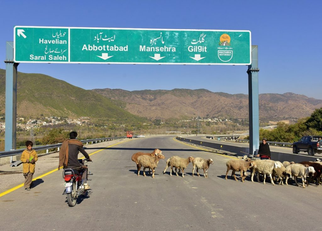 A stretch of China's new Silk Road has opened in Haripur, Pakistan, but the larger initiative is running into delays.