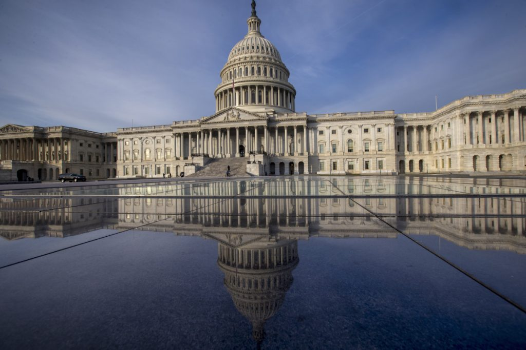 The federal government is financed through Friday, and another temporary spending bill is needed to prevent a partial government shutdown after that.