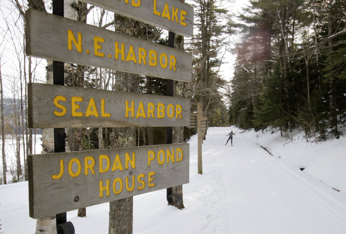 Ski trail grooming to resume at Acadia despite shutdown
