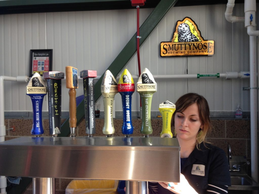 The Smuttynose Brewing Co. property in New Hampshire includes a restaurant located next to the brewery.