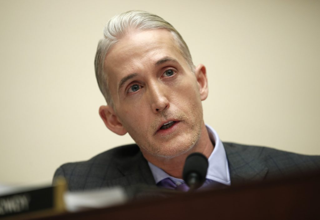 Rep. Trey Gowdy, R-S.C.,  will not seek re-election.