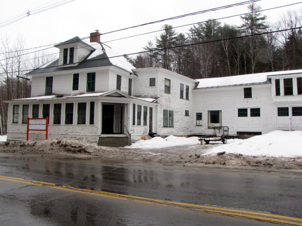 The former home of Dr. Albert York on Main Street in Wilton was donated to the Western Maine Play Museum in 2014.