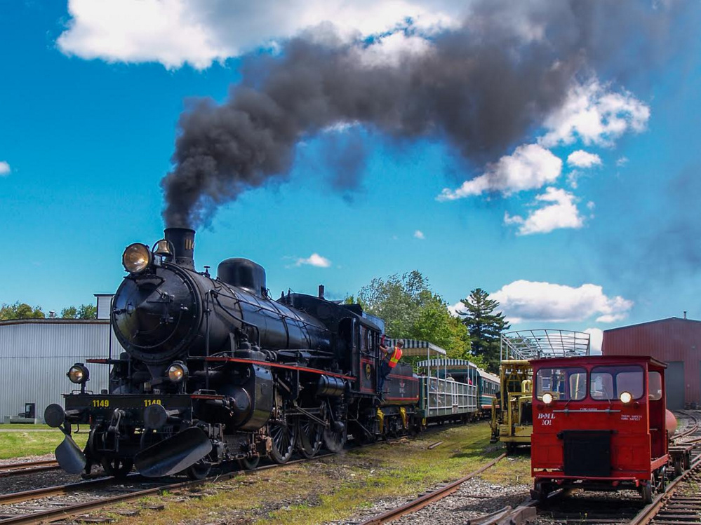 The Belfast and Moosehead Lake Railroad.