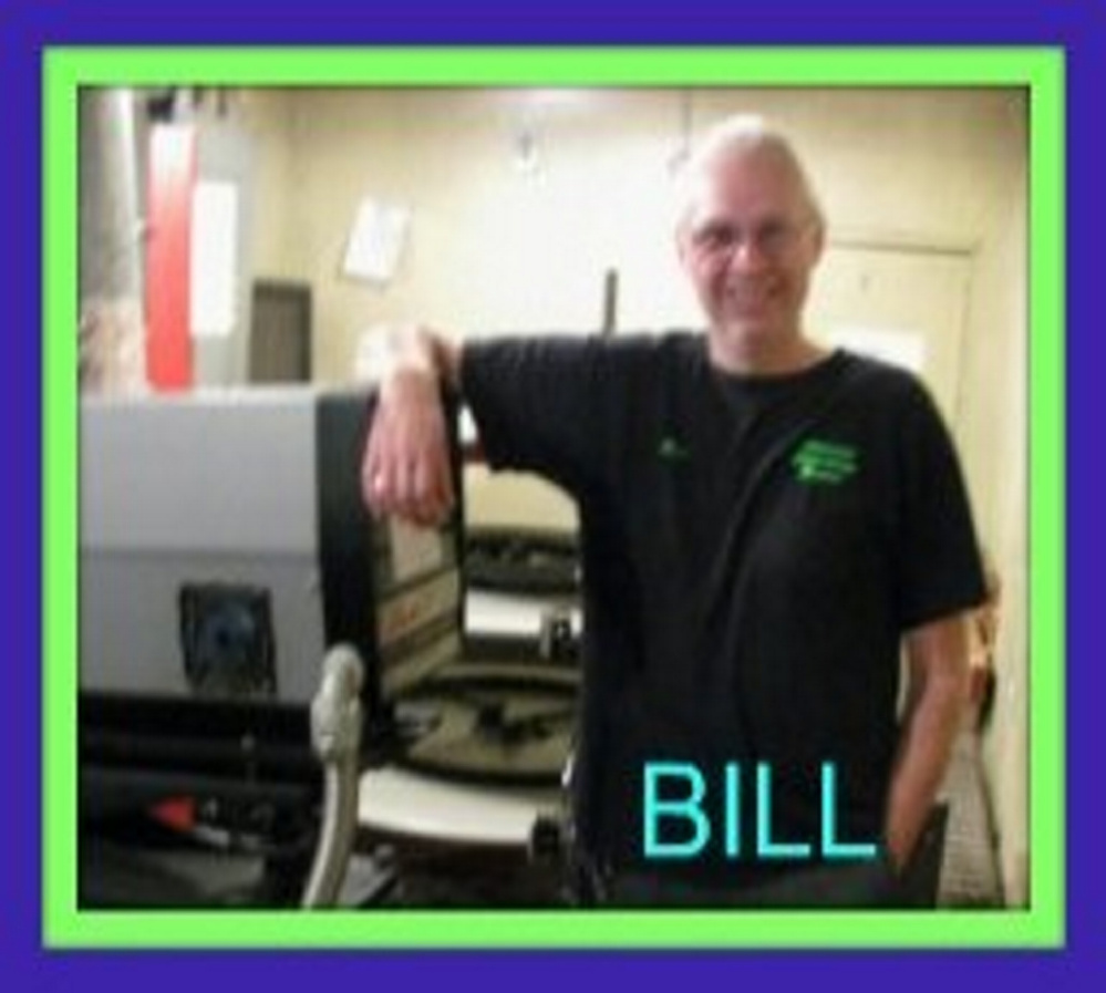 Bill Lashon worked for 17 years at the Pittsfield Community Theatre as a projectionist.