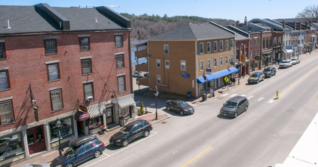 Water Street in Hallowell is the subject of a Maine Department of Transportation meeting scheduled for Wednesday as state officials prepare to solicit bids for a major reconstruction project on the road through downtown.