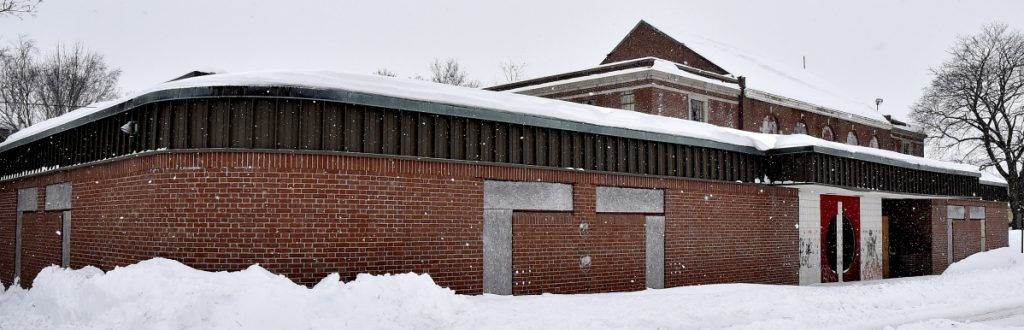 The former Waterville Boys and Girls Club, seen Monday.
