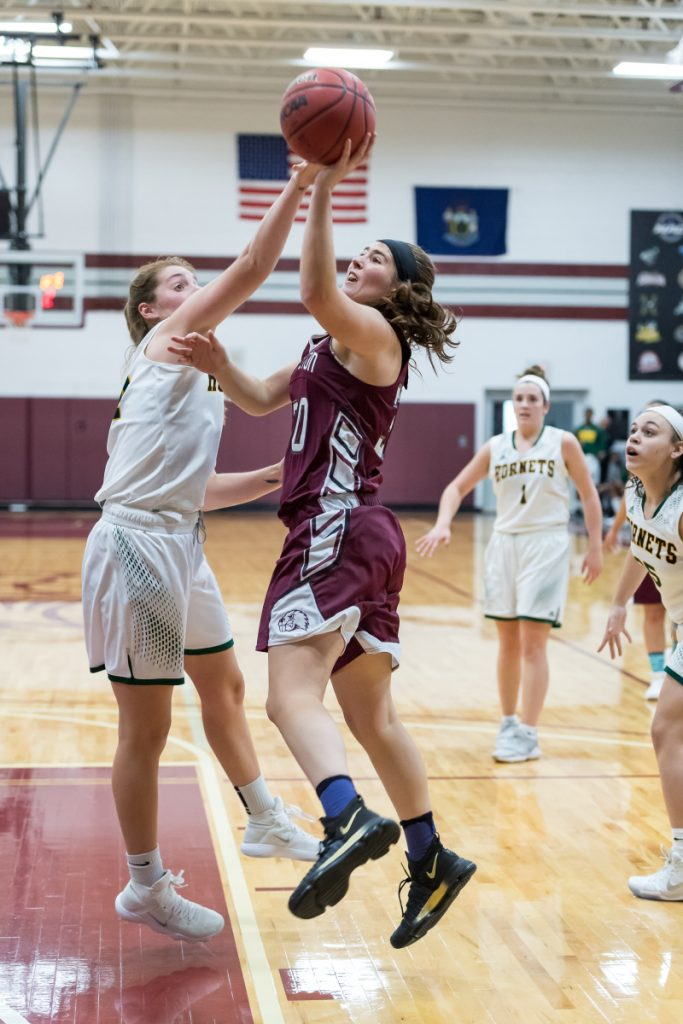 University of Maine at Farmington freshman forward McKenna Brodeur, a Messalonskee graduate, averaged 13 points per game through the first six games of the season. But she has missed the remainder of the schedule due to a lower body injury.