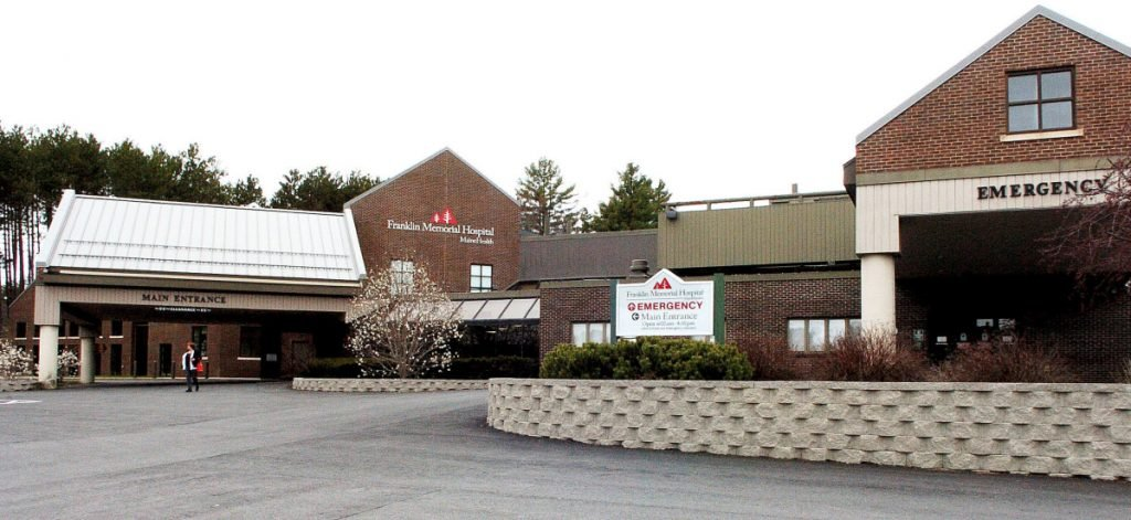 Franklin Memorial Hospital in Farmington is asking people who might feel ill not to visit patients, in an effort to protect vulnerable patients.