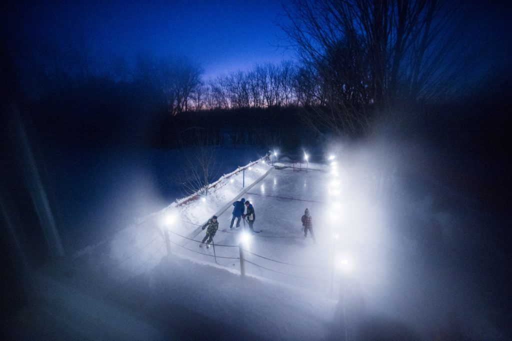 Backyard Ice Rink Lights gallery: backyard ice rinks - kennebec journal and morning sentinel