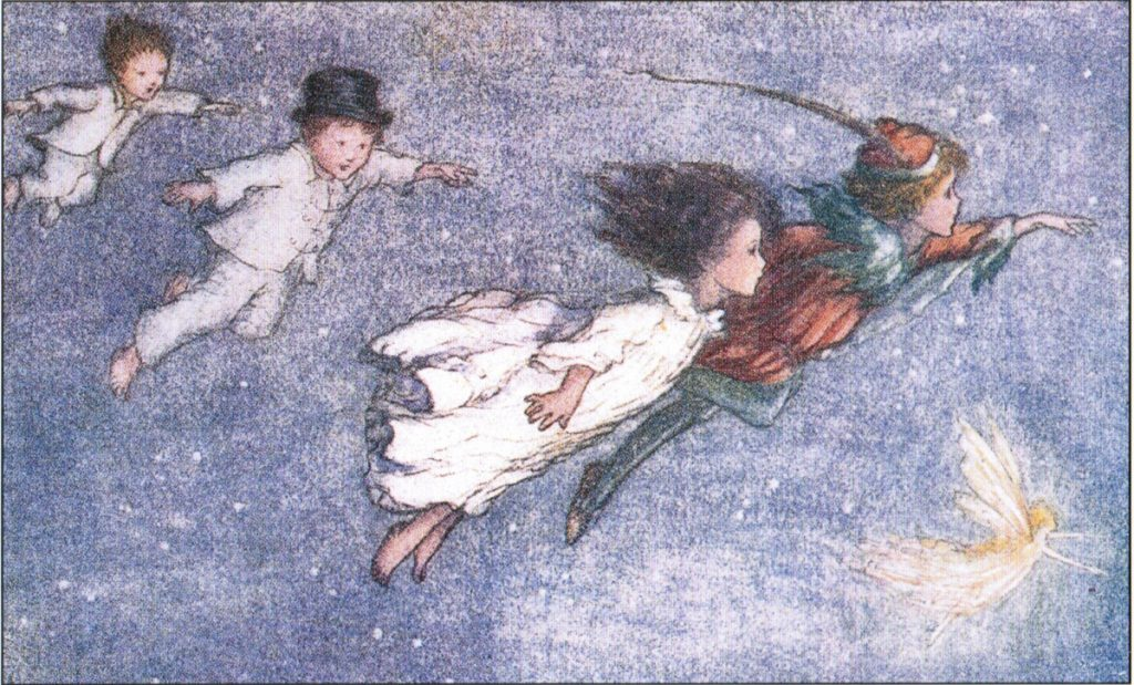 """Off to Never-Never Land"" by  Flora White, 1914."