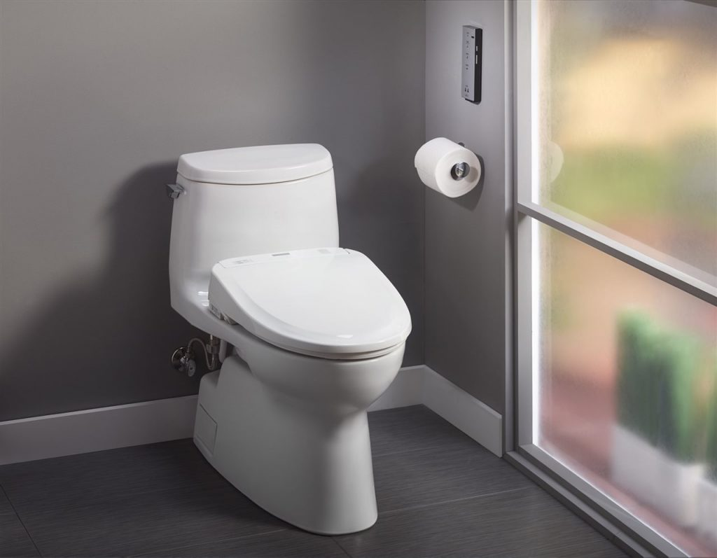 A bidet seat provides health and cleansing benefits.