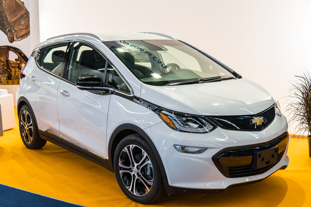 The driverless cars are versions of all-electric Chevrolet Bolts without steering wheels.