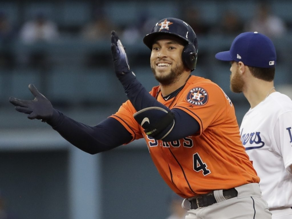 Houston's George Springer and the  Astros avoided salary arbitration by agreeing Monday to a $24 million, two-year contract. Springer gets $12 million annually under the deal and will be eligible for arbitration again after the 2019 season.