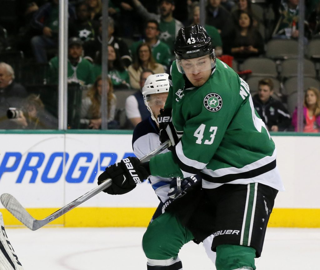 Russia's Valeri Nichushkin, a former Dallas Stars player, is among 32 Russian athletes who filed appeals to be able to participate in the Olympics, which open on Friday.