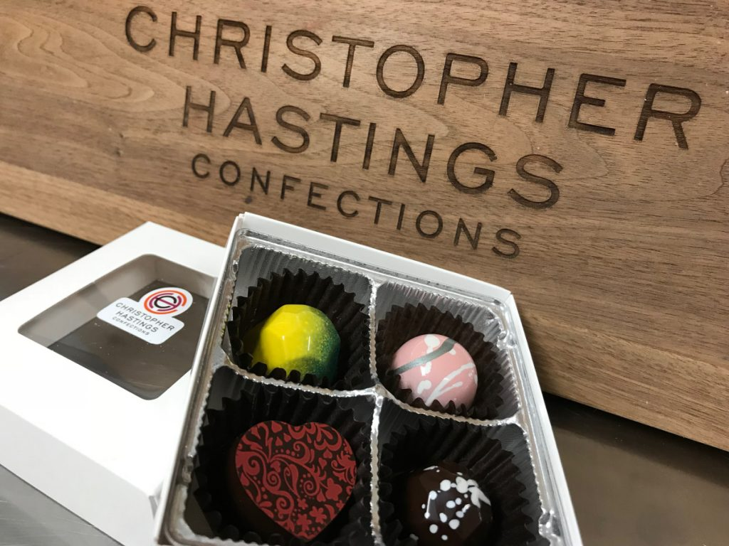 Nate Towne and Mark Simpson came up with Christopher Hastings by combining their middle names.