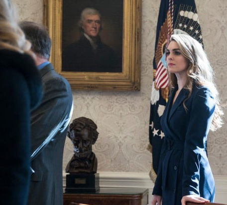 White House Communications Director Hope Hicks is not likely to be removed from her post despite current controversies.
