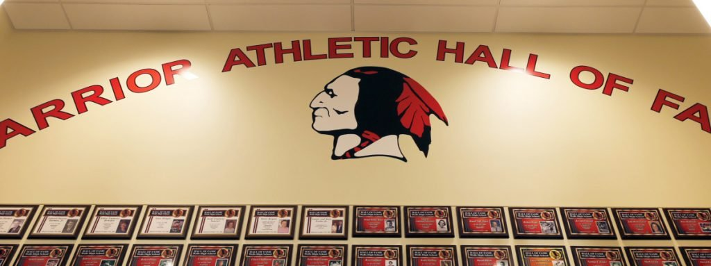 Changes to Wells High School sports apparel and the athletic center foyer could cost $25,000, a school official says.