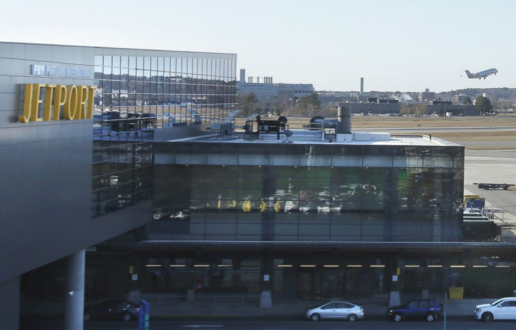 """We are definitely seeing a shift to Mainers coming back and using the jetport instead of driving down to Boston and Manchester,"" says Zach Sundquist, the Portland International Jetport's assistant director."