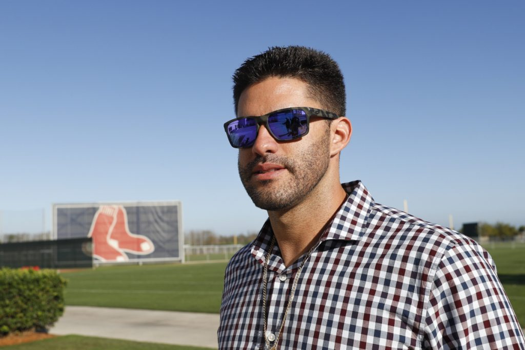 J.D. Martinez first visited Fenway as a fan when he was 19, attending the game wearing a Red Sox shirt.