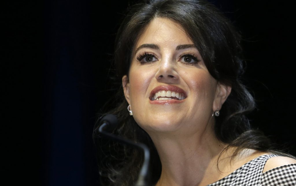 Monica Lewinsky, the former White House intern, says she was diagnosed with post-traumatic stress after her affair with former President Bill Clinton was made public.