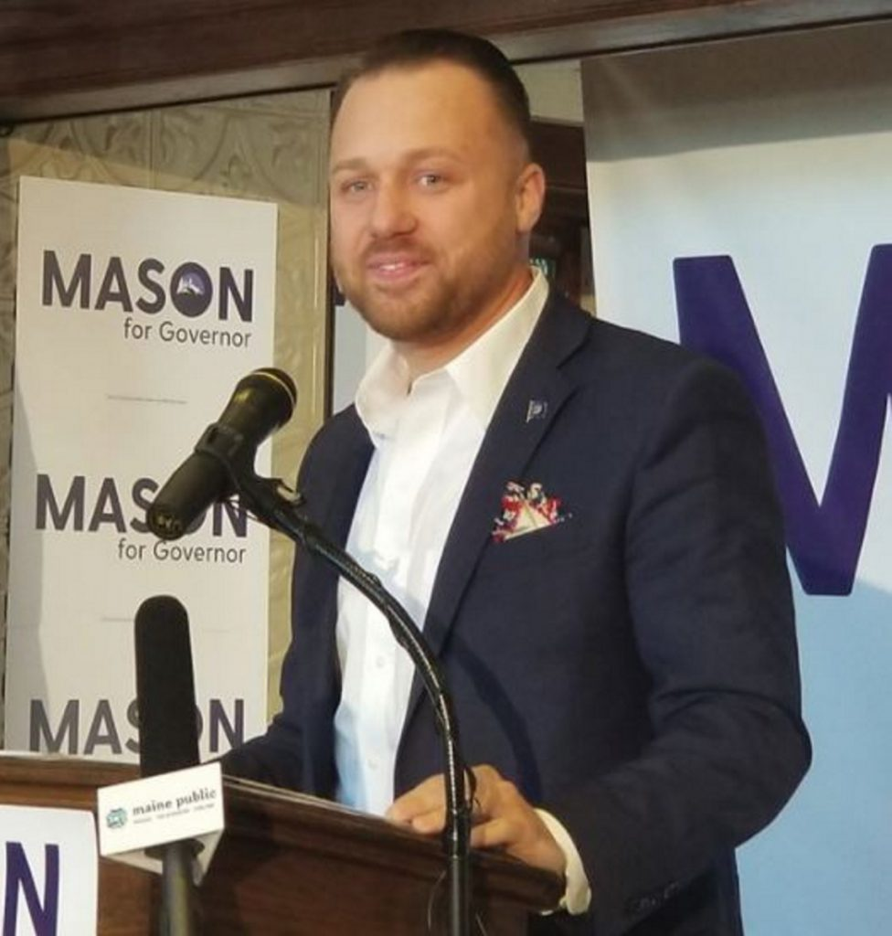 Sen. Garrett Mason, who announced his gubernatorial bid last fall, has gathered enough signatures to qualify for the ballot, the first among the many contenders vying for the office.