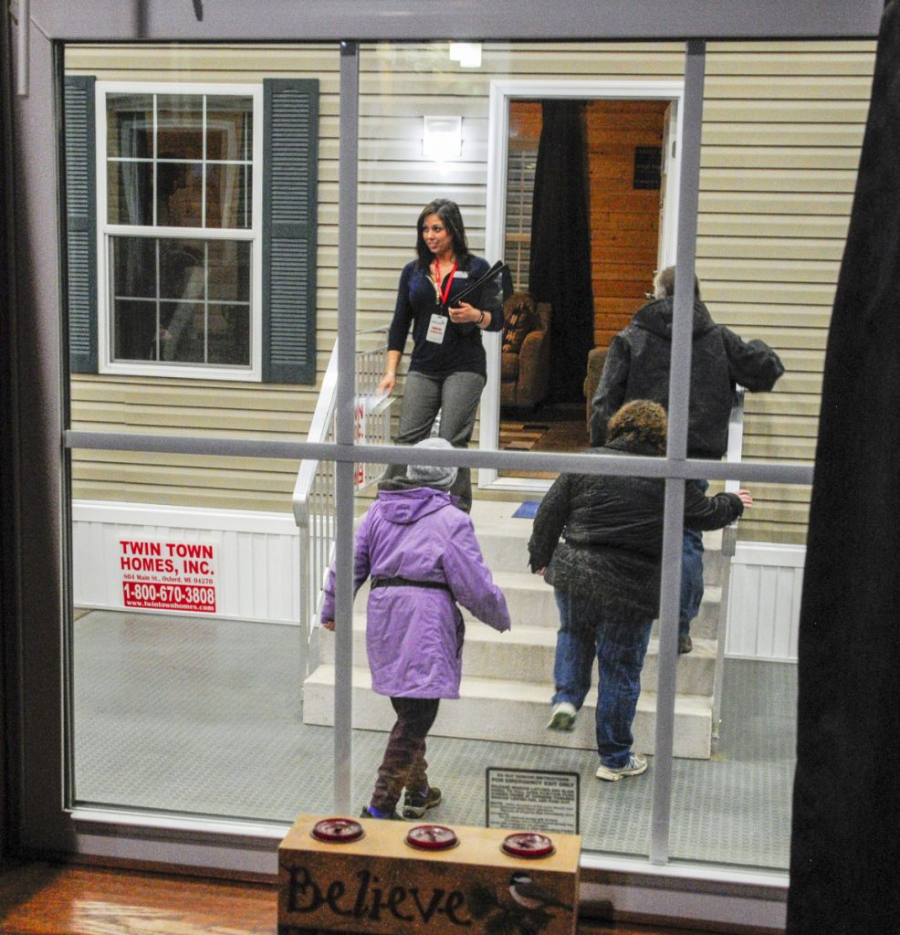 Modular Manufactured Homes On Display Inside Augusta